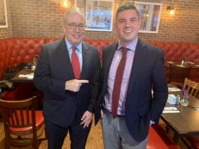 Scott Stringer with Alex Brower