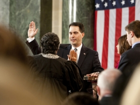 Scott Walker Inauguration Day