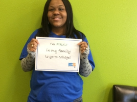 "Shaquana Corder is an MPS TEAM UP alumna and earned her associate's degree at Concordia University Wisconsin in May 2014. She said, ""I feel like I accomplished something that no one in my family has accomplished. I am excited for what the future holds. I feel like I can do anything I put my mind to now that I have my associate's degree."" Corder is continuing toward a bachelor's degree this fall."