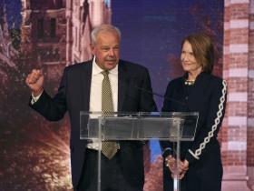Dr. Scott Stanek and Mary Ellen Stanek