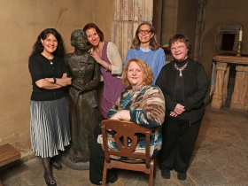 Sarah Wadsworth, Catey Ott Thompson, Connie Petersen, Lynne Shumow, and Susan Mountin