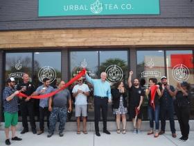 Urbal Tea Ribbon Cutting