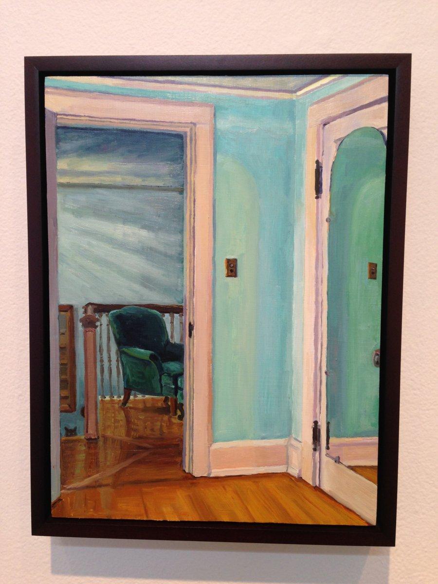 Painting by Ariana Huggett.