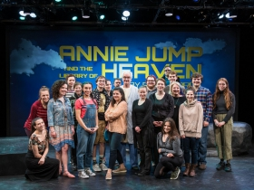 Annie Jump: cast production team