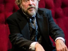 James Pickering, as Pozdynyshev, in The Kreutzer Sonata.