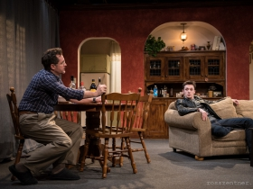 Reese Madigan and Max Pink in Renaissance Theaterworks' production of RUSSIAN TRANSPORT