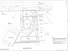 7501 W. Oklahoma Ave. Pumping Station Site Plan