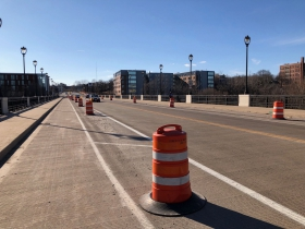 Current State of E. North Ave. Bridge
