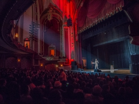 Chris Tucker at the Riverside Theater