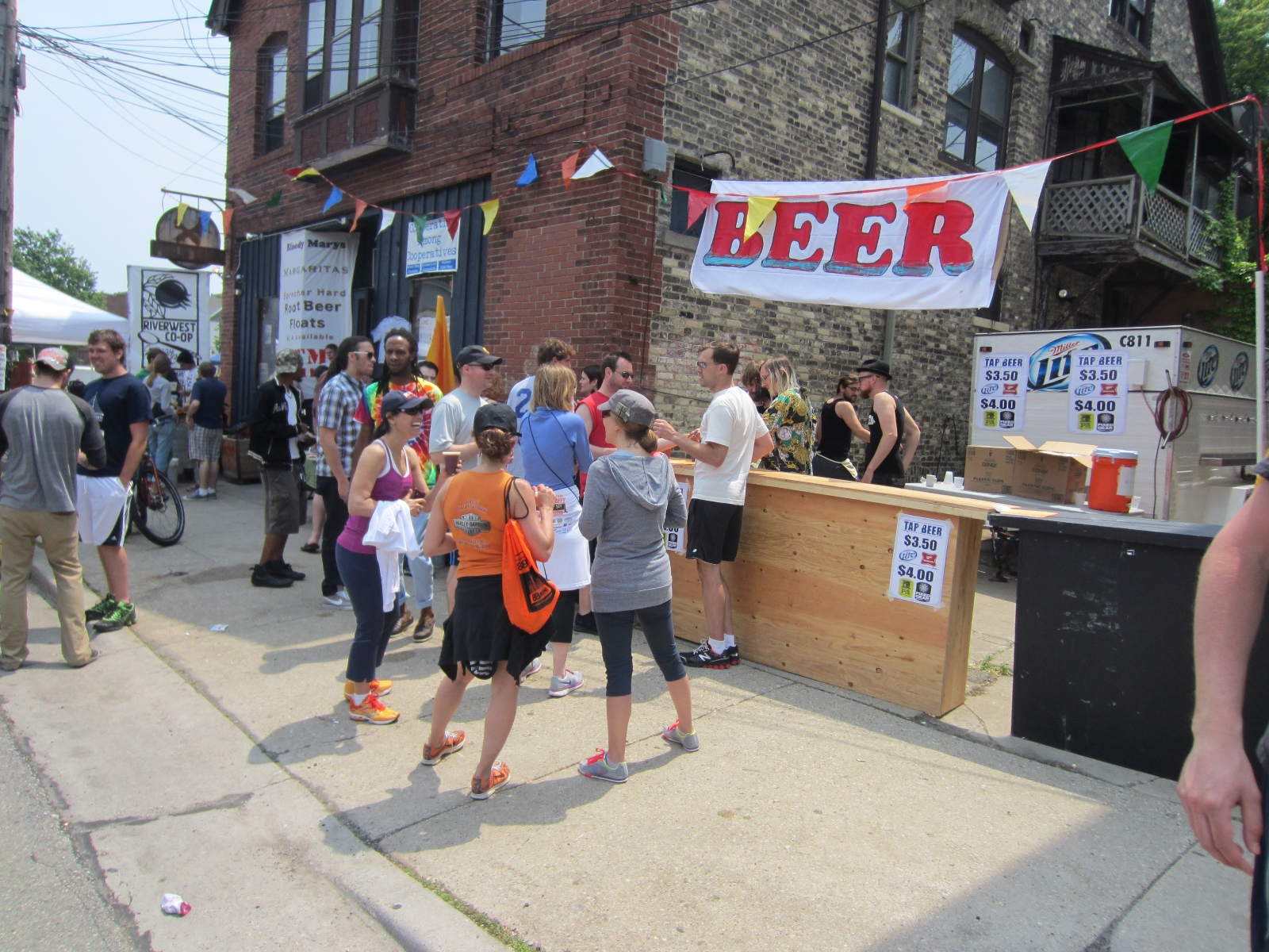 Riverwest Public House Beer Stand
