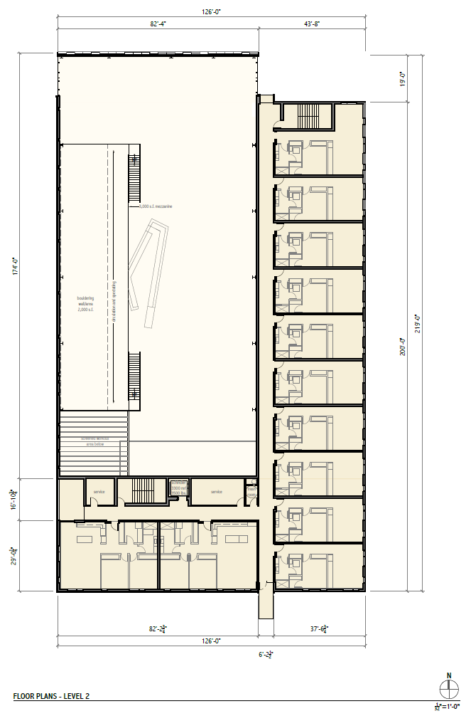 Rivercrest Phase II Level 2 Floor Plan.