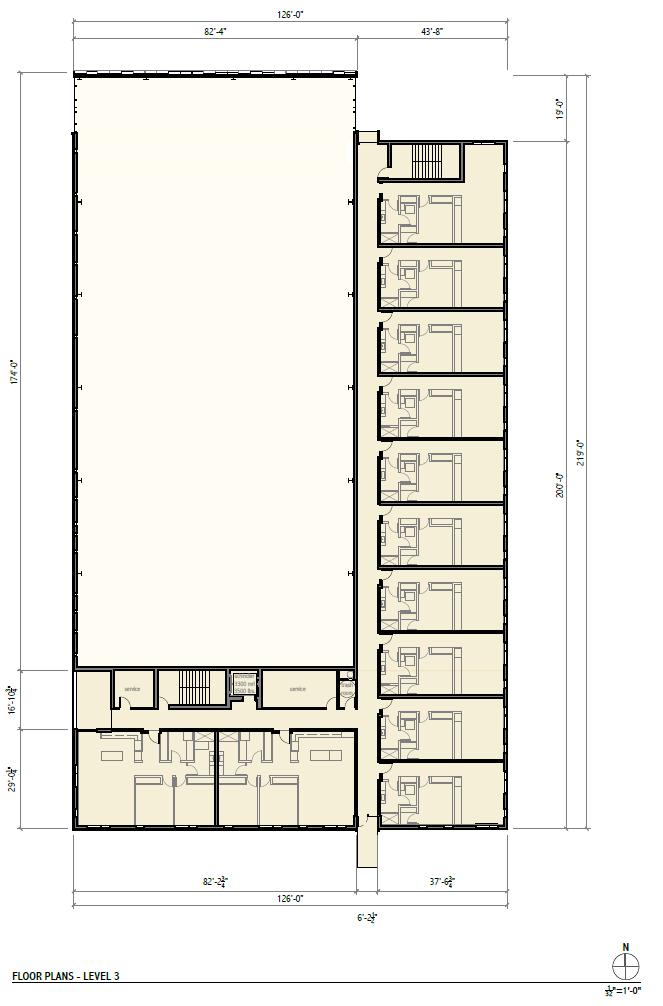 Rivercrest Phase II Level 3 Floor Plan.