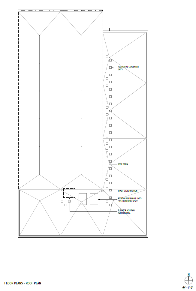 Rivercrest Phase II Roof Plan.