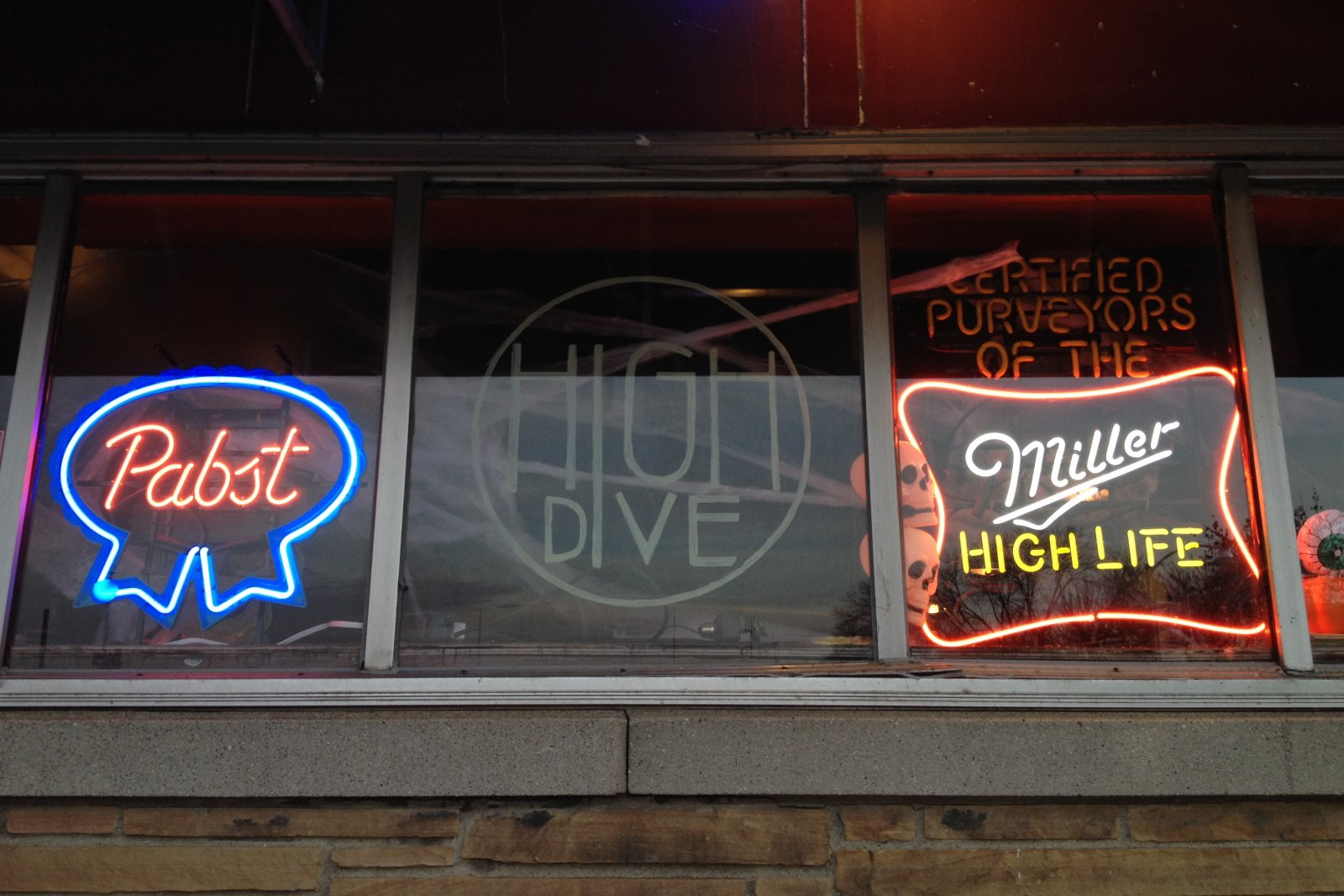 High Dive window