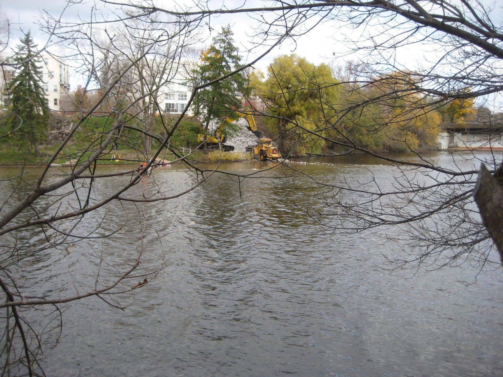 Photo gallery milwaukee river fish spawning area expands for Milwaukee river fishing