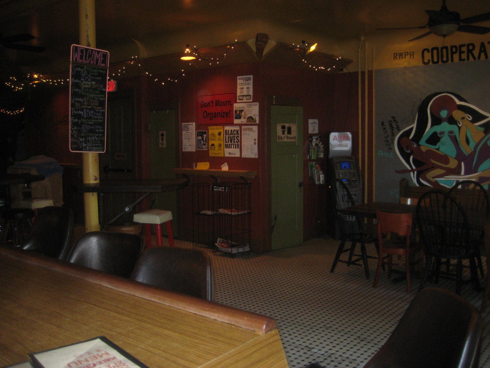 Inside the Riverwest Public House