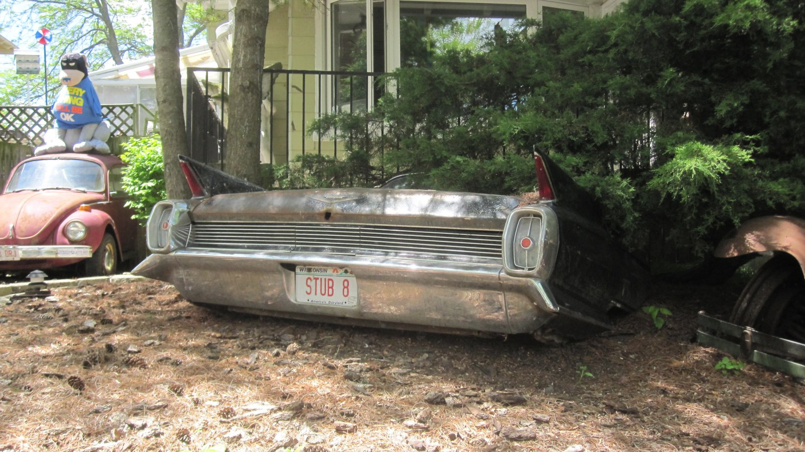 The House of Buried Cars