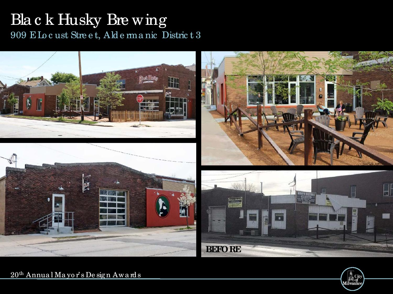 Black Husky Brewing, 909 E. Locust St.