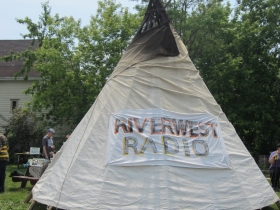 Riverwest Radio Tipi