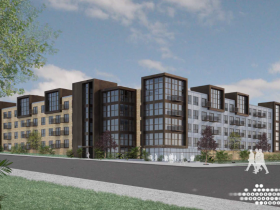 1150 North Apartments Approved Rendering.