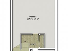 2650 N. Humboldt Blvd. Floor Plan - Floor 1.