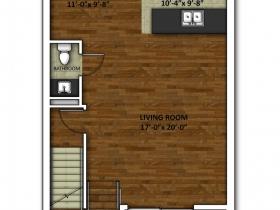 2650 N. Humboldt Blvd. Floor Plan - Floor 2.