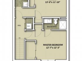 2650 N. Humboldt Blvd. Floor Plan - Floor 3.