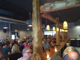 Packed Bar at Black Husky