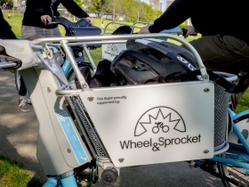 Wheel & Sprocket basket