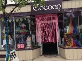 Cocoon Room, located at 820 E. Locust Street.