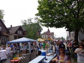Locust Street Festival Crowd