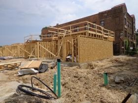 2650 N. Humboldt Blvd is under construction in Riverwest.