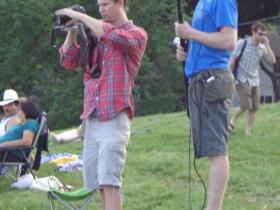 Filming is underway.