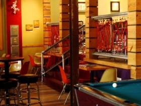 Interior of Art*Bar.