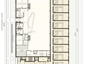 Rivercrest Phase II Main Level Floor Plan.