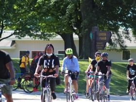 Gordon Parks bike ride