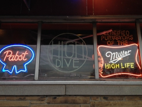 High Dive window