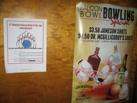 Falcon Bowl Bowling Special