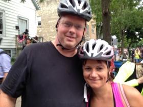 Dave Reid and Mariiana Tzotcheva.
