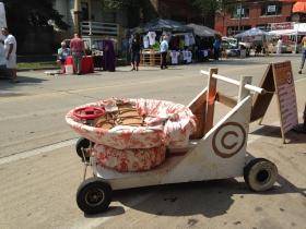 Comfy cart.