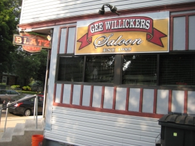 Gee Willickers is getting on to 30 years in business on its quiet corner.