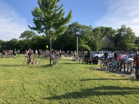 Ride Ends at Gordon Park