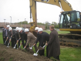 Adventure Rock Groundbreaking
