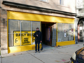 The Daily Bird Cafe owner Dan Zwart.