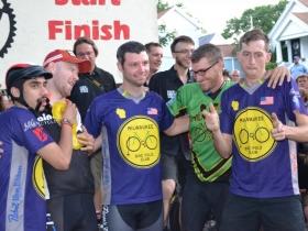 Milwaukee Bike Polo Team Celebrates Placing 2nd as an A Team