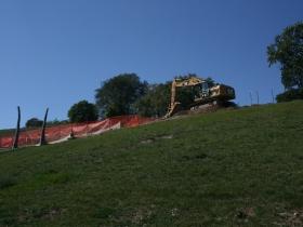 Kadish Park Amphitheater Construction