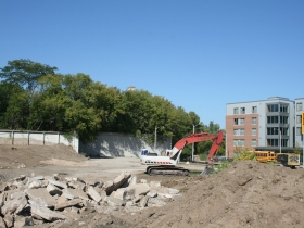 1150 North Apartments Site Preparation