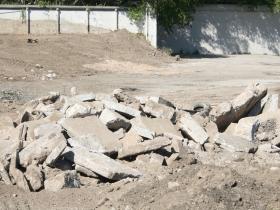1150 North Apartments Site Preparation