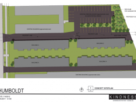 2650 N. Humboldt Blvd. Site Plan.