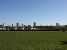 Soccer field at Kadish Park